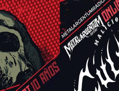 Anonymus, Malicious Culebra y Morferus, juntos, en el festival de los 10 años de Metalargentum radio