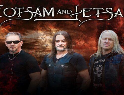 ¡Los legendarios FLOTSAM AND JETSAM unen fuerzas con SoundBlast Media!